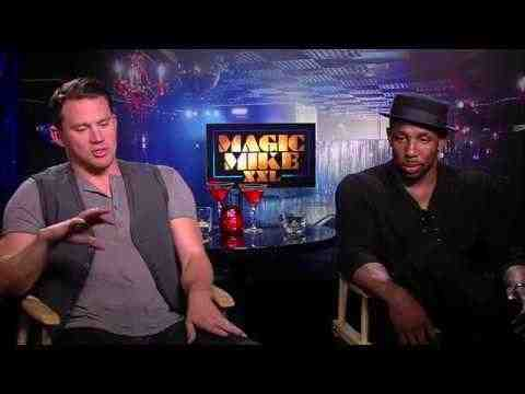 Magic Mike XXL - Channing Tatum & Stephen 'tWitch' Boss Interview