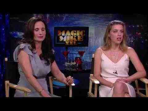Magic Mike XXL - Amber Heard & Andie MacDowell Interview