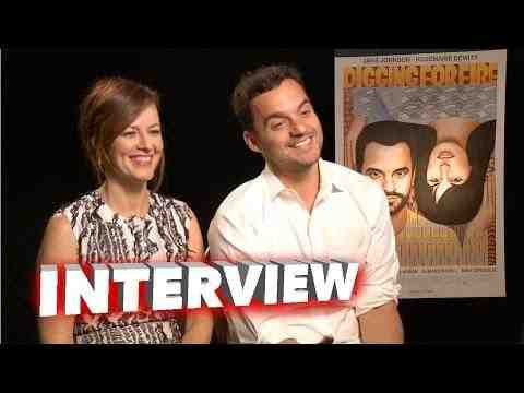 Digging for Fire - Jake Johnson and Rosemarie DeWitt Interview