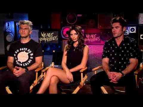 We Are Your Friends - Zac Efron, Emily Ratajkowski & Director Max Jospeh Interview Part 1
