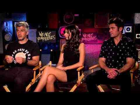 We Are Your Friends - Zac Efron, Emily Ratajkowski & Director Max Jospeh Interview Part 2