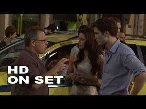 Twilight Breaking Dawn Behind-the-Scenes Footage